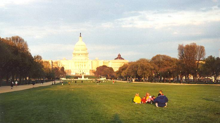 National mall and memorial parks best honeymoon for Best honeymoon locations in usa