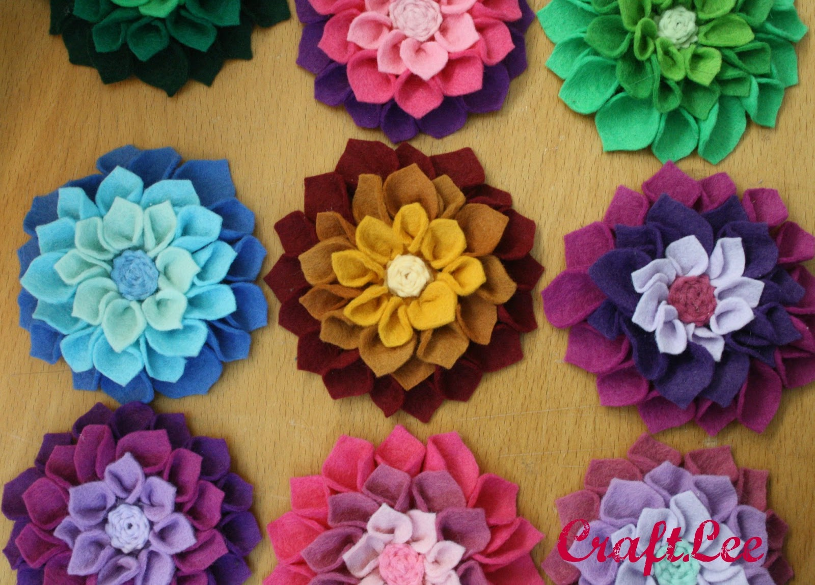 CraftLee CraftLee Felt Flower Fun