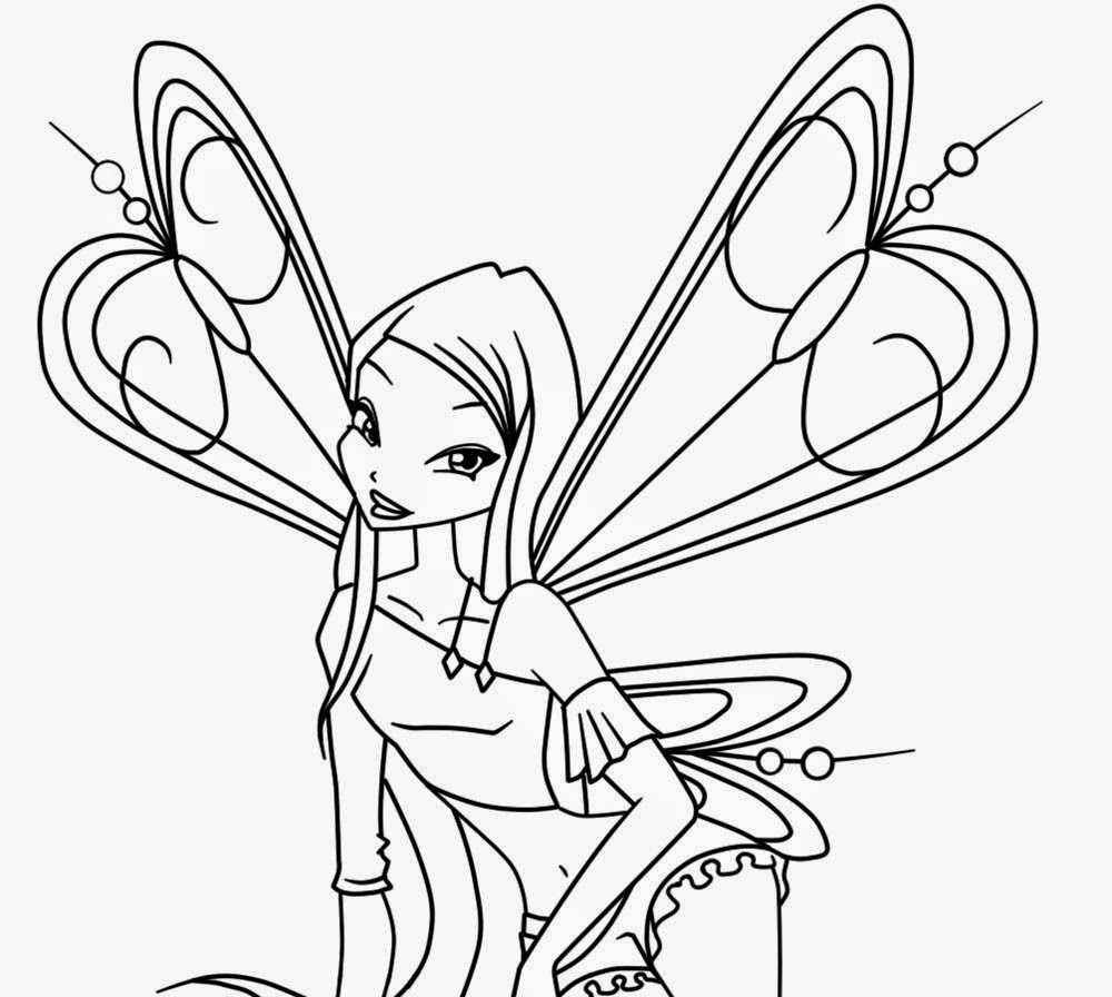 Dibujos para colorear. Maestra de Infantil y Primaria.: Winx Club ...