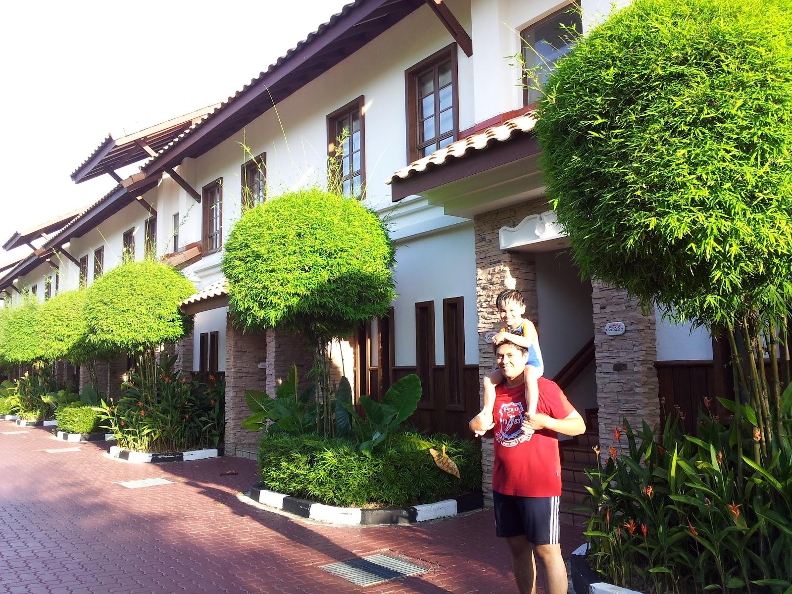 Alw z b3 my baby jom jenjalan sekitar grand lexis port for Garden pool villa grand lexis blog
