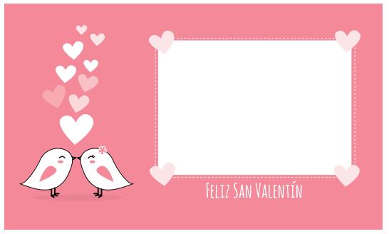 Tarjetas de San Valentín para imprimir ~ Portal de Manualidades
