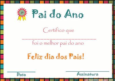 atividades dia dos pais educação infantil atividades para o infantil lembrancinha dia dos pais certificado pai do ano