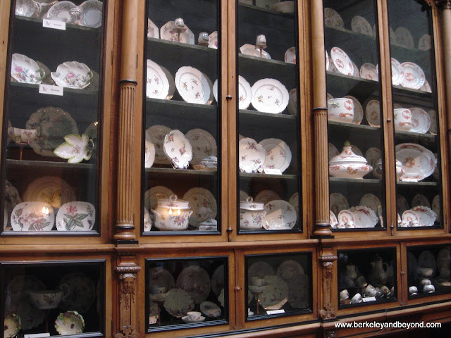 china cabinet at Castle Howard in York, England