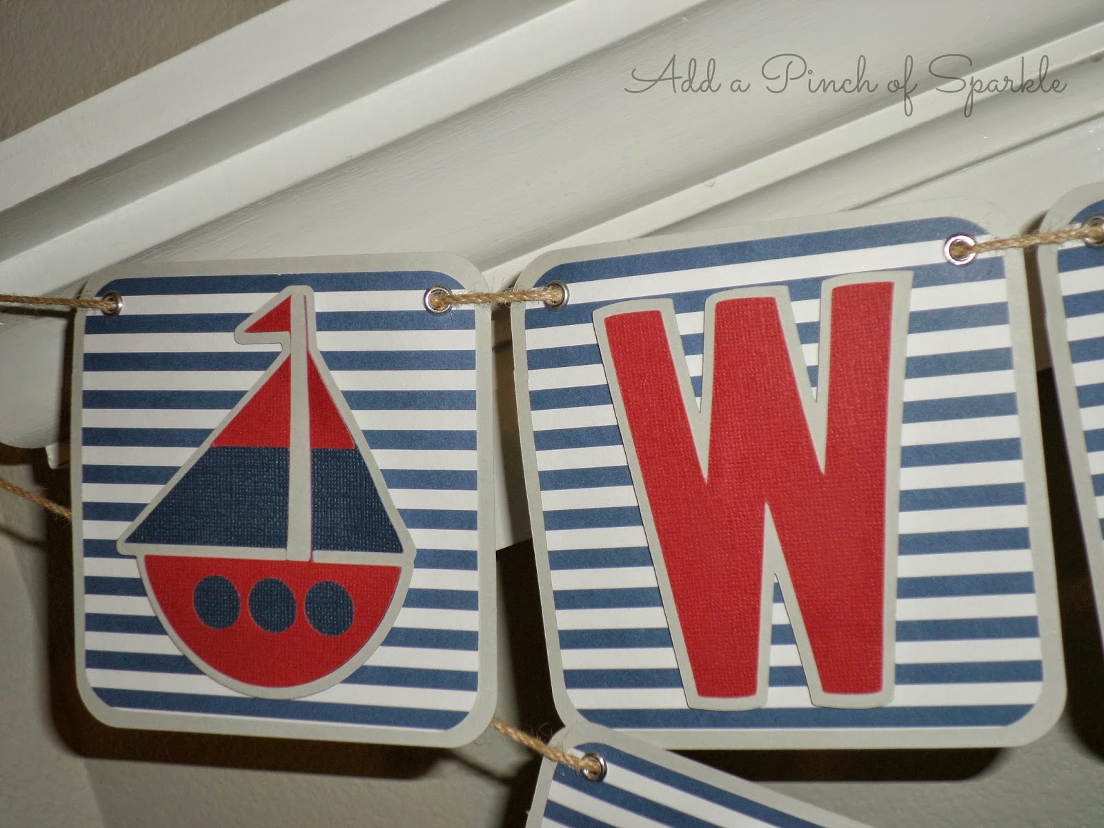 Add A Pinch Sparkle Nautical Themed Baby Shower Ideas