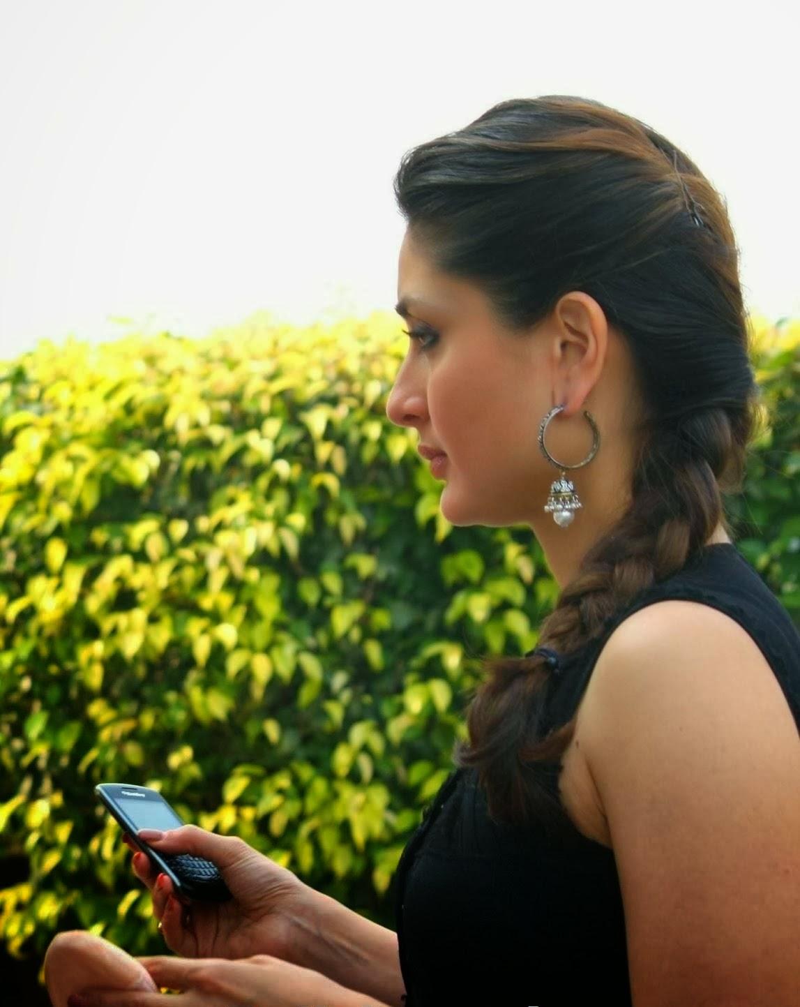 Kareena Kapoor on mobile
