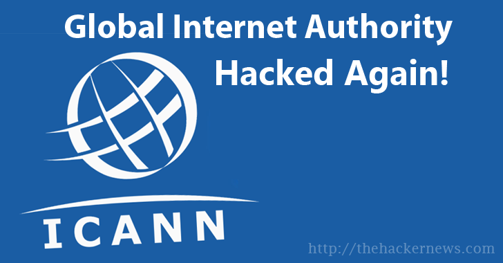 ICANN Hacked Again