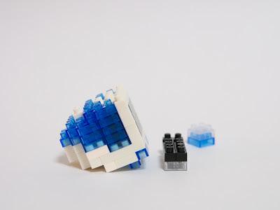 ナノブロックで作ったimac G3