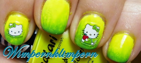 Nageldesign Hello Kitty Nägel