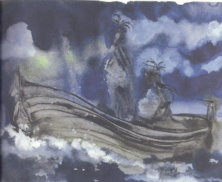 Ilustración de Miquel Barceló para la edición del Círculo de Lectores, 2002