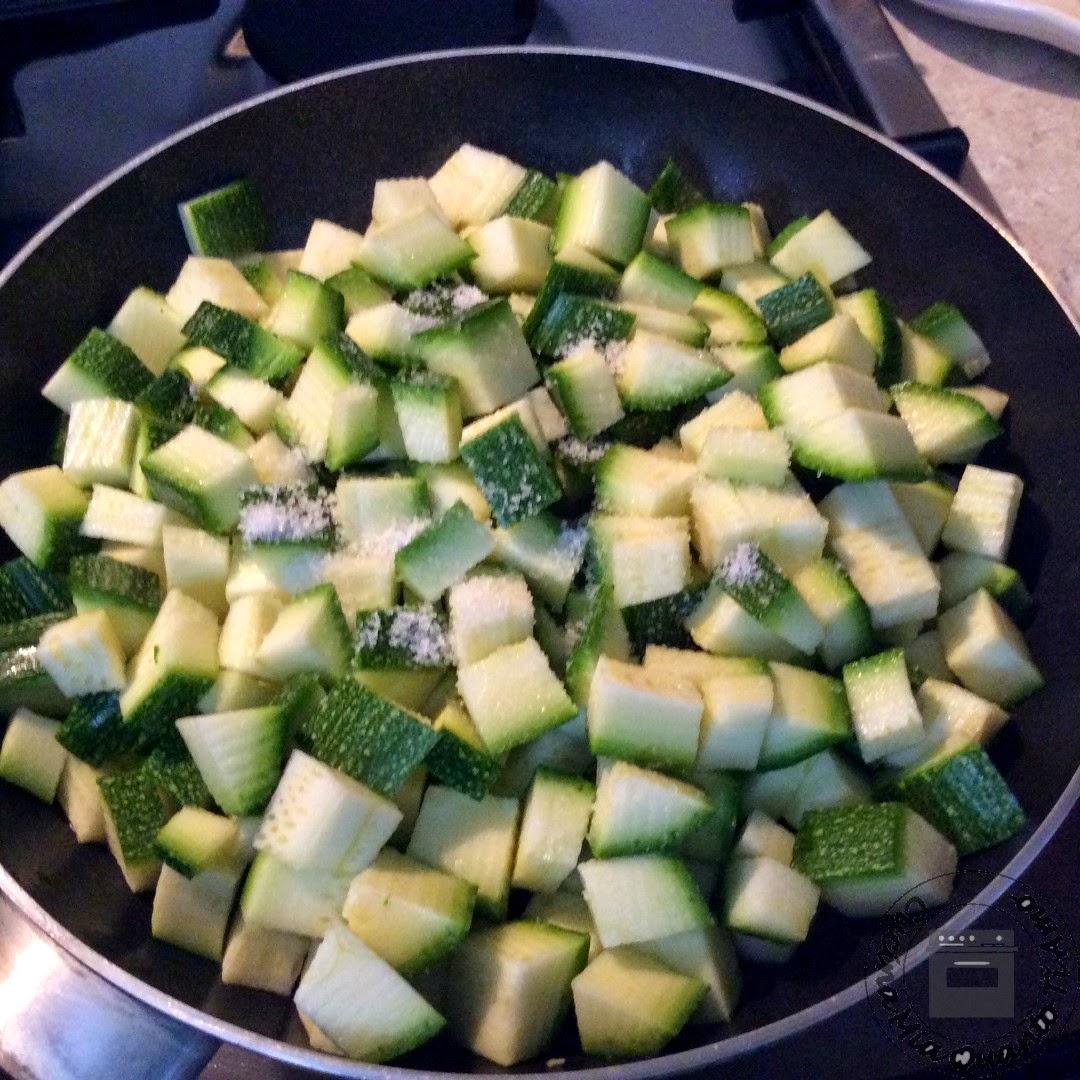 fusilli con zucchine