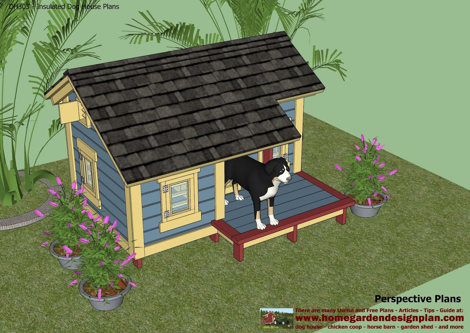 Insulated dog house plans canada storage shed housing for Free home plans canada
