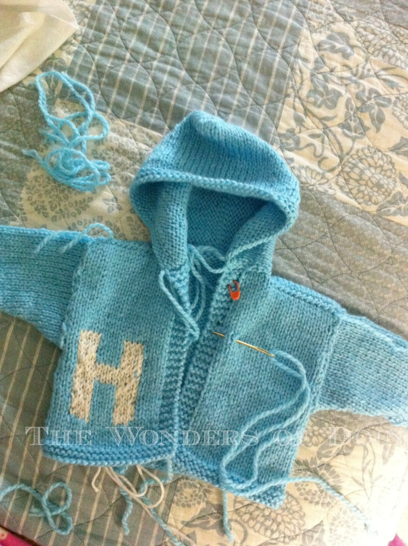 Knitting Letters Into A Hat : The wonders of doing knitting for little s