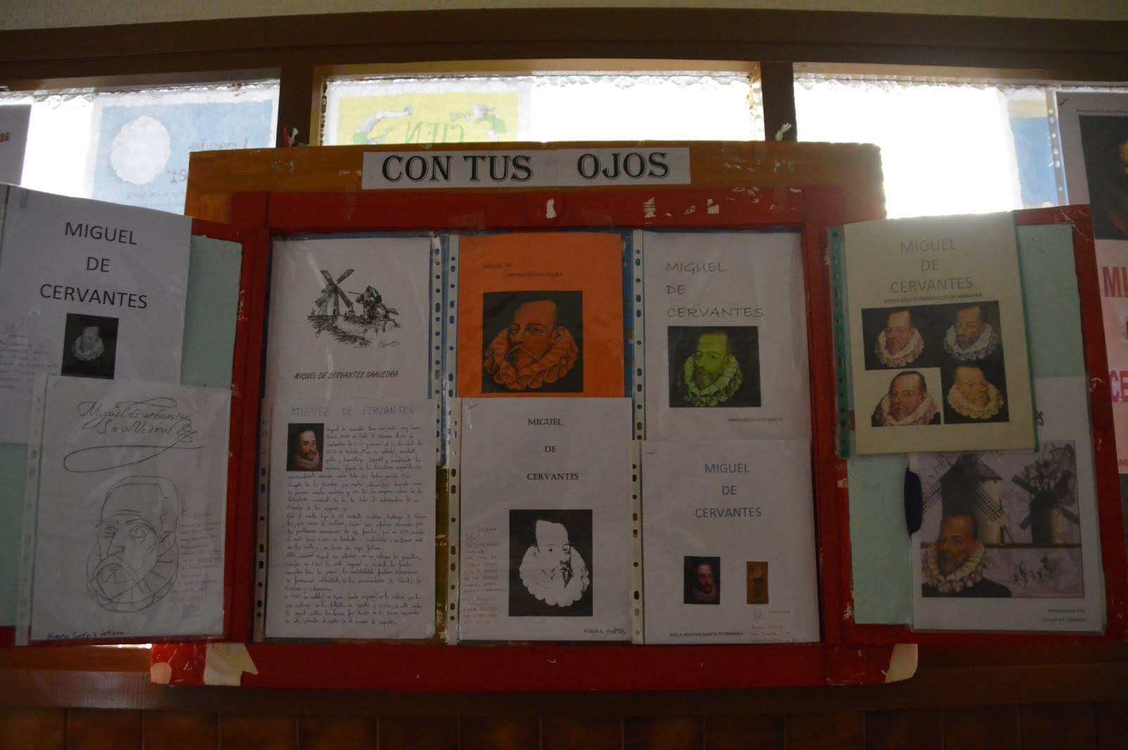 Nuestros trabajos de Cervantes
