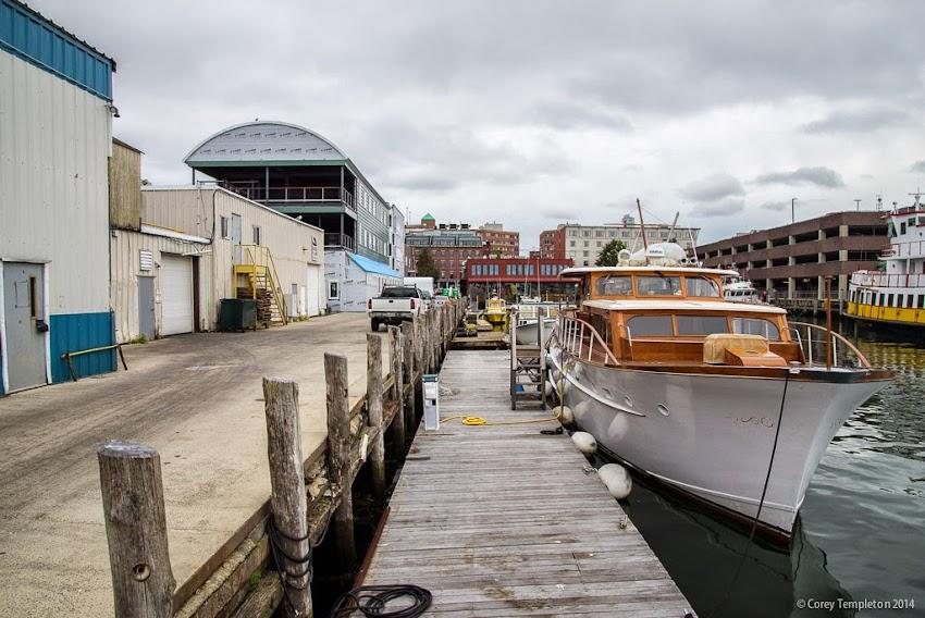 Portland, Maine Construction September 2014 Maine Wharf photo by Corey Templeton