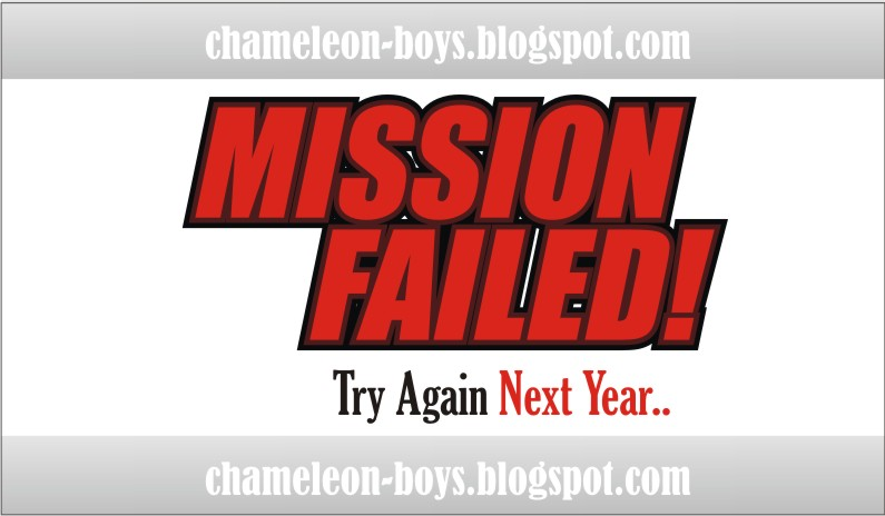 mission failed chameleon boys