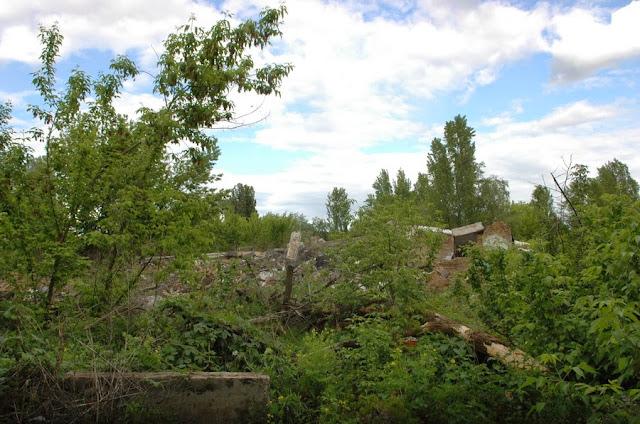 Фото Виталия Бабенко: развалины