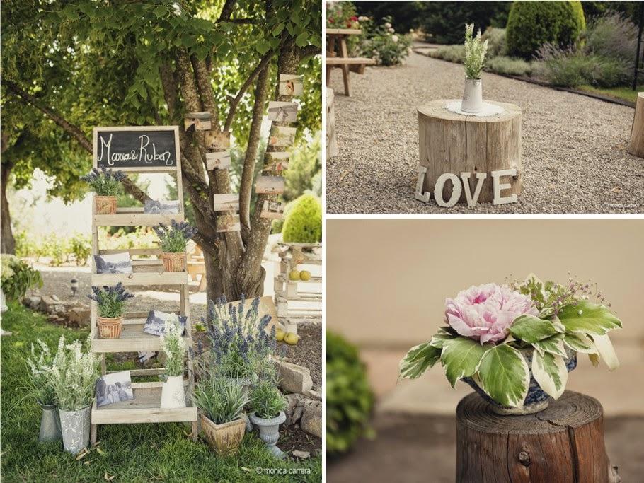 Abril 2014 blog de bodas originales para novias con estilo for Decoracion rustica para bodas