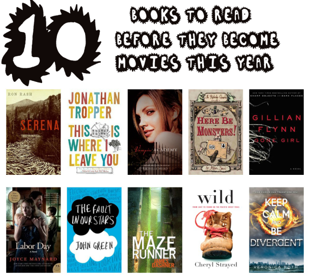 10 books to read before they become movies this year