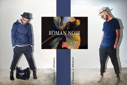 Look Roman Noir