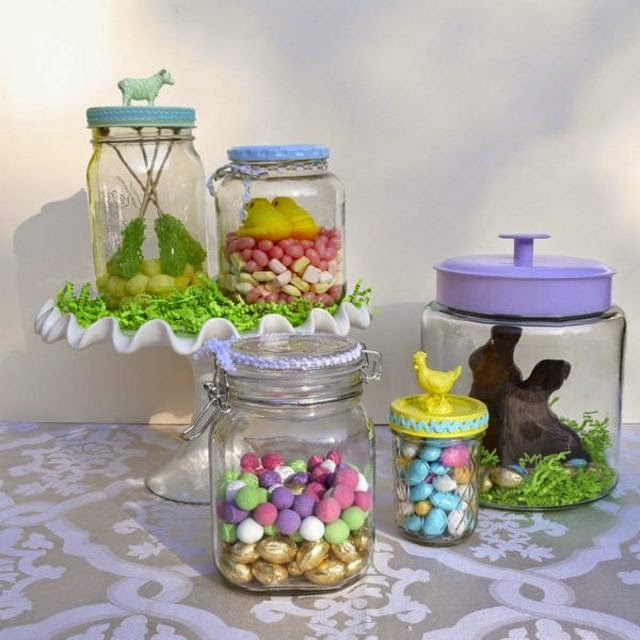 9 easter table decorating ideas do it yourself ideas and for Do it yourself table decorations