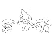 #4 Blossom Coloring Page
