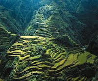 Banaue Rice Terrace Di Philipina