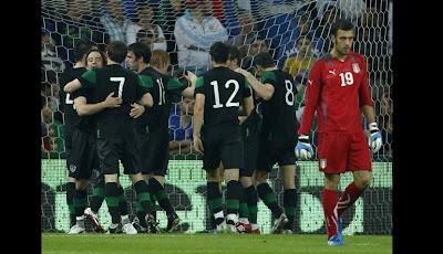 gol de irlanda contra italia