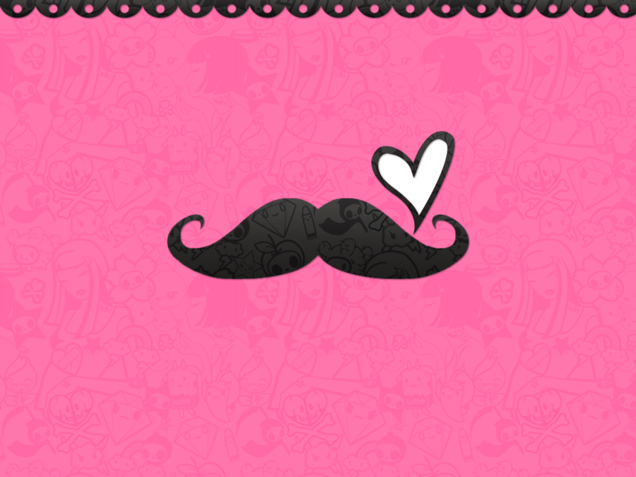mustache wallpaper for walls joy studio design gallery