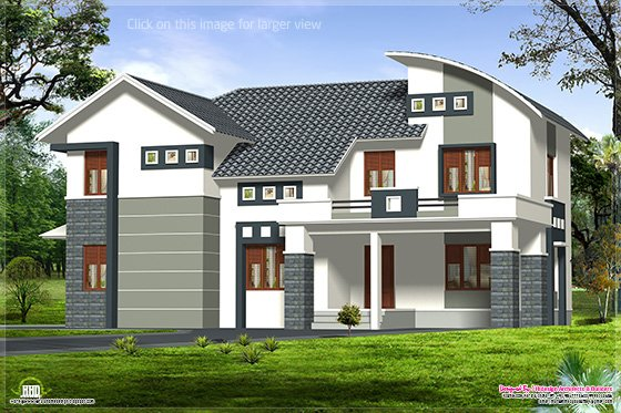 2800 sq-feet villa