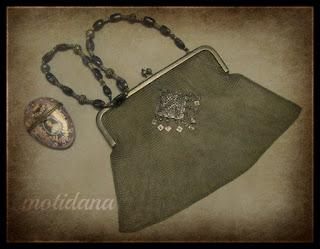 mesh purse restored