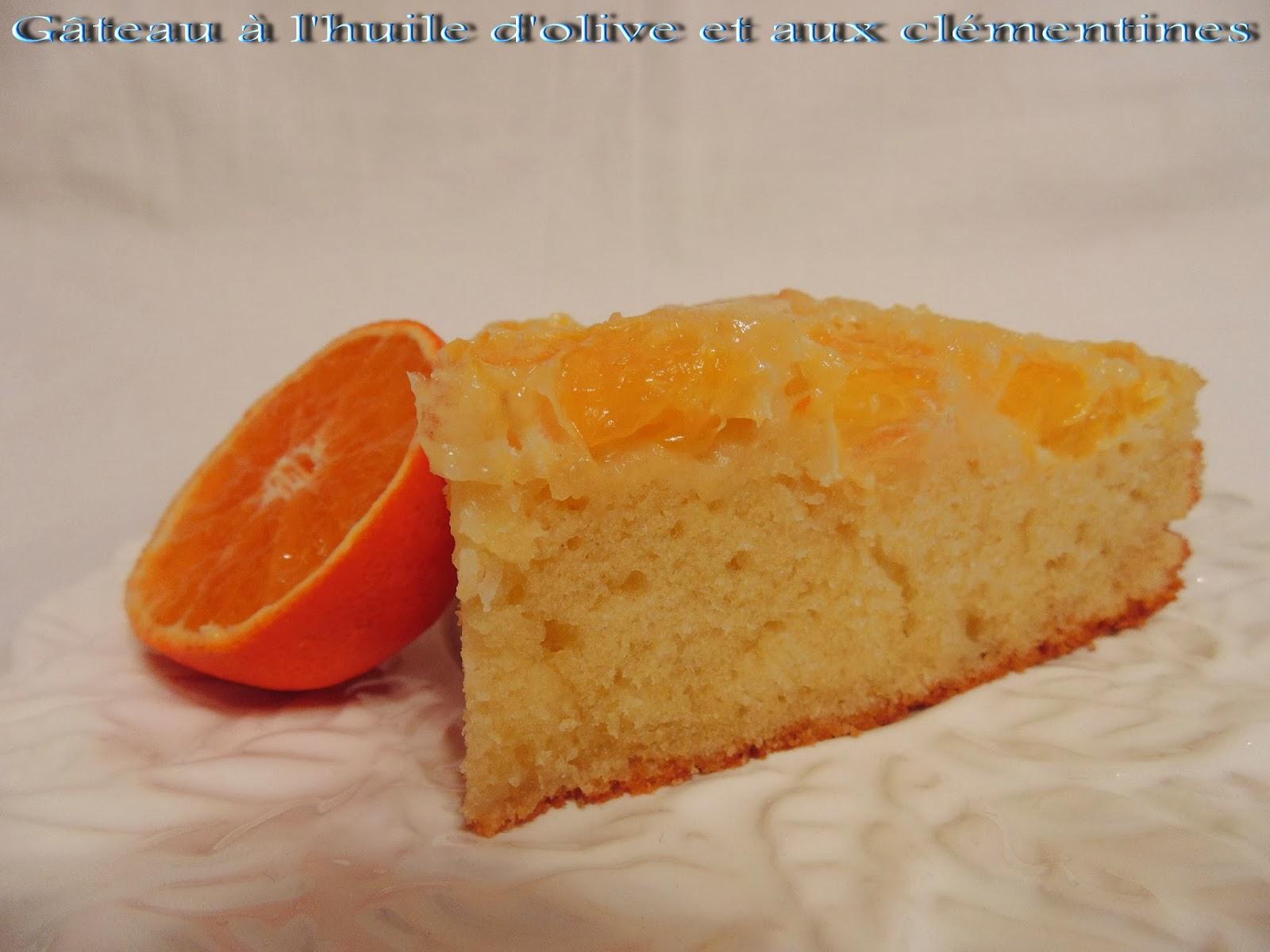 Gateau gaga love cakes gateau l 39 huile d 39 olive et aux cl mentines - Gateau a l huile ...