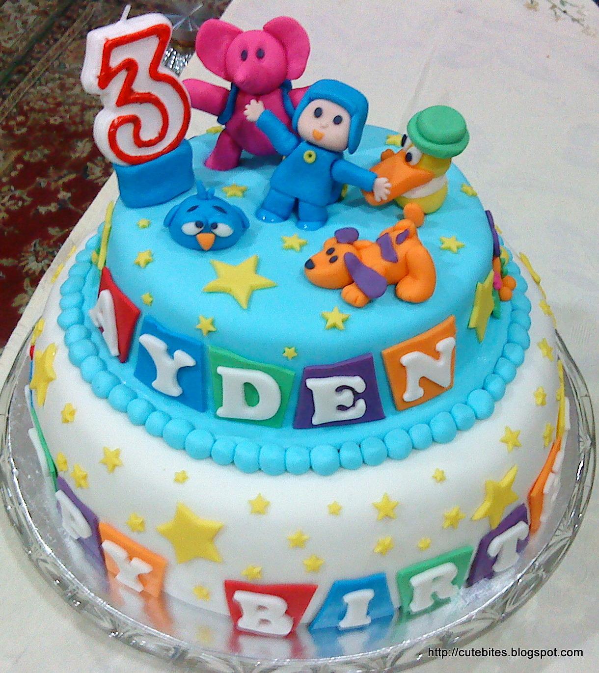 Where Do Order Pocoyo Birthday Cake