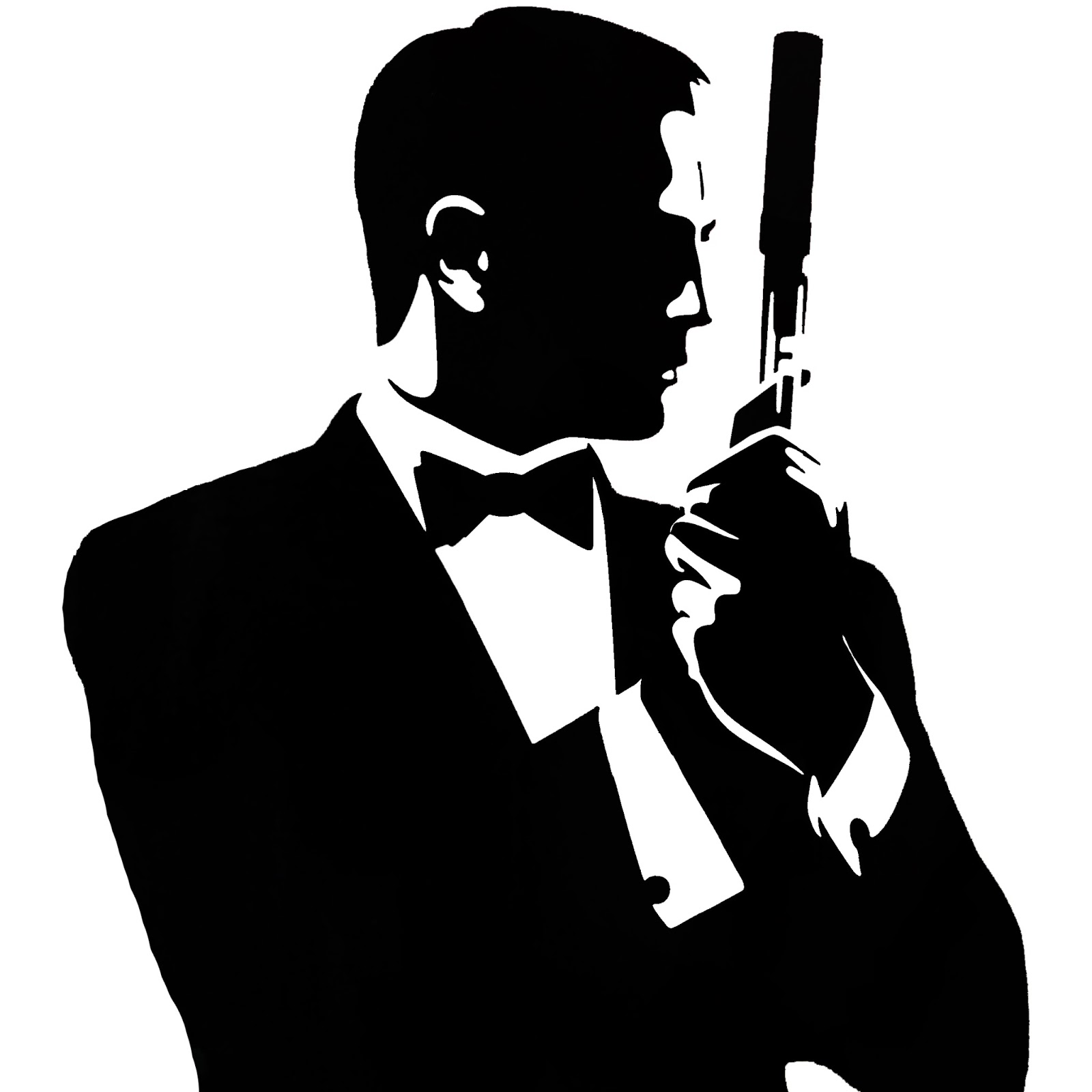 James Bond Silhouette - WallsKid