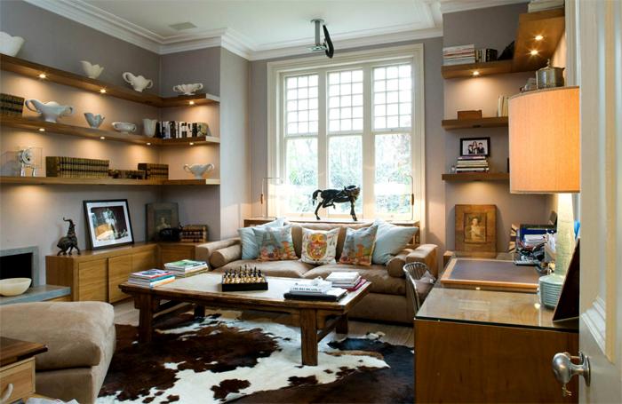 decoración salón pequeño-saber planificar living room familiar