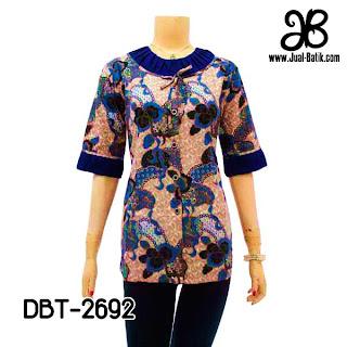 Model Blus Batik DBT-2692
