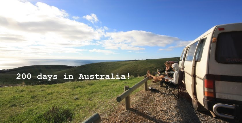 200 Days in Australia !