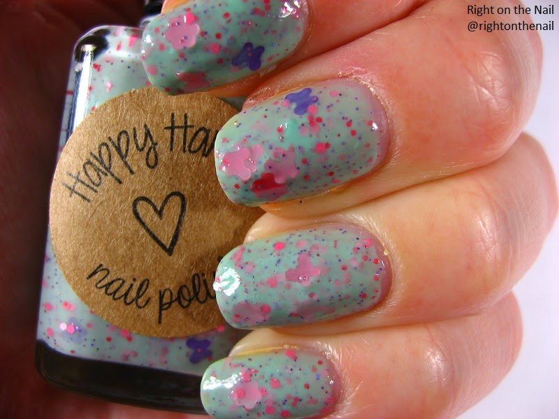 Right on the Nail: Happy Hands Spring 2013 Collection Swatch and ...