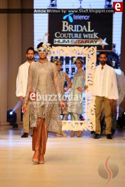 Maria.B Bridal Couture at Telenor Bridal Couture Week 2014 Day-1