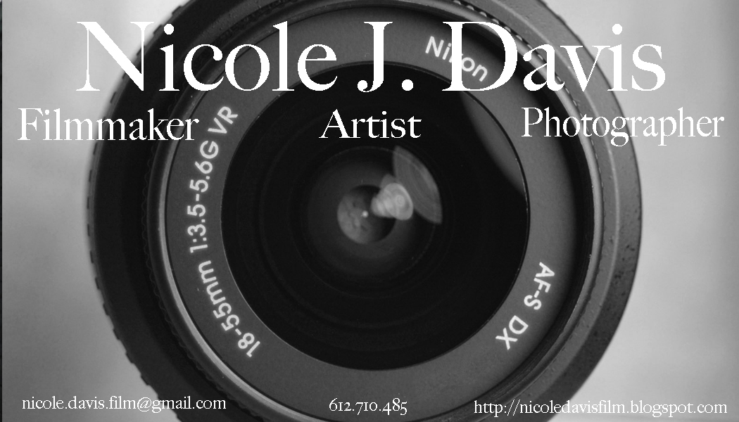 Confessions of a female filmmaker business cards check them out let me know which one you like best colourmoves Choice Image
