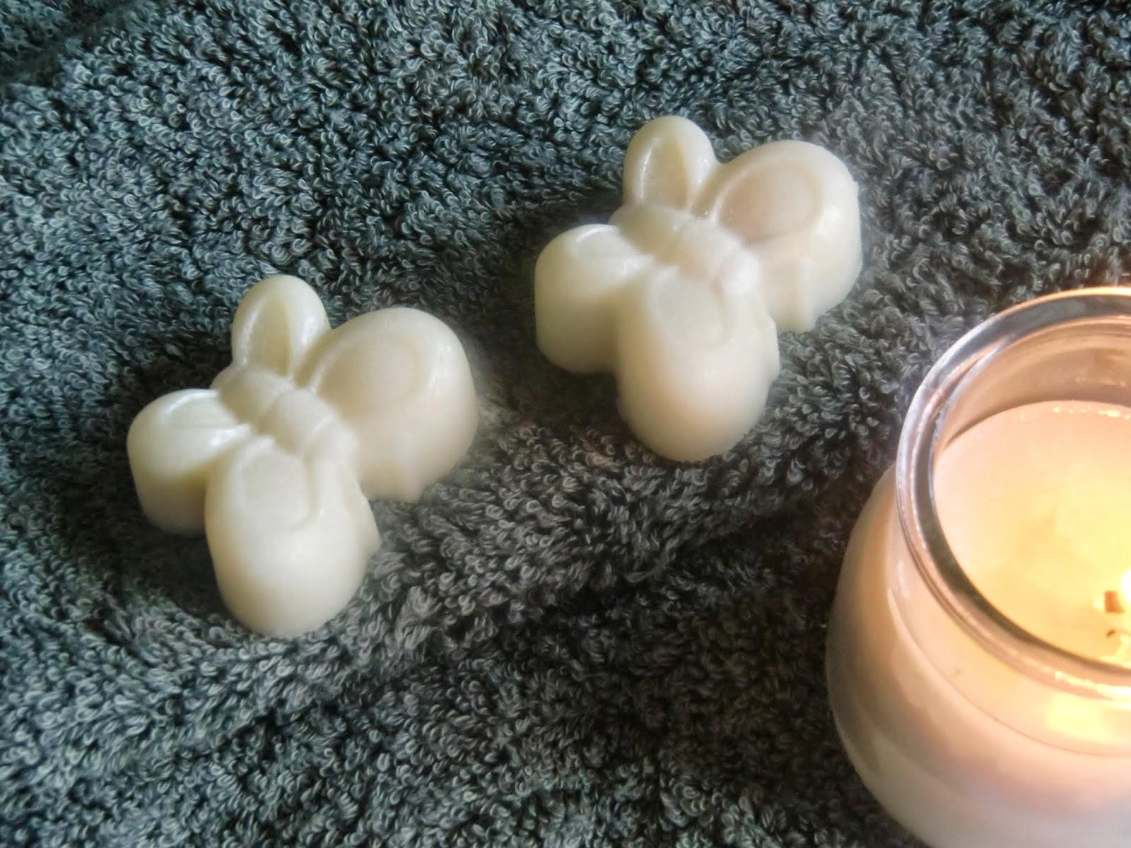 Barras y velas de masaje.