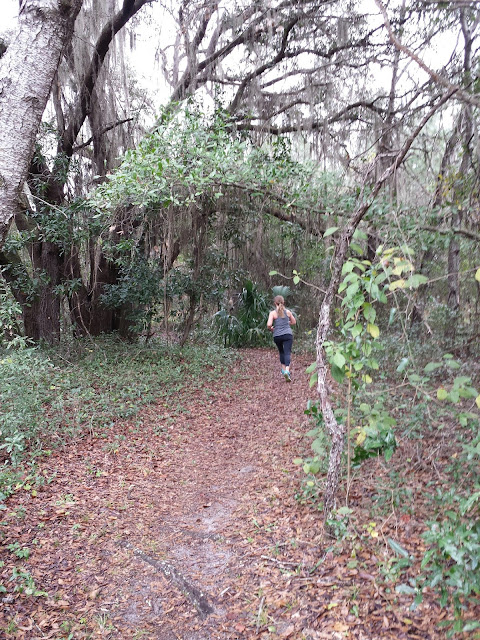 Early  Morning Run - Florida Trail Run