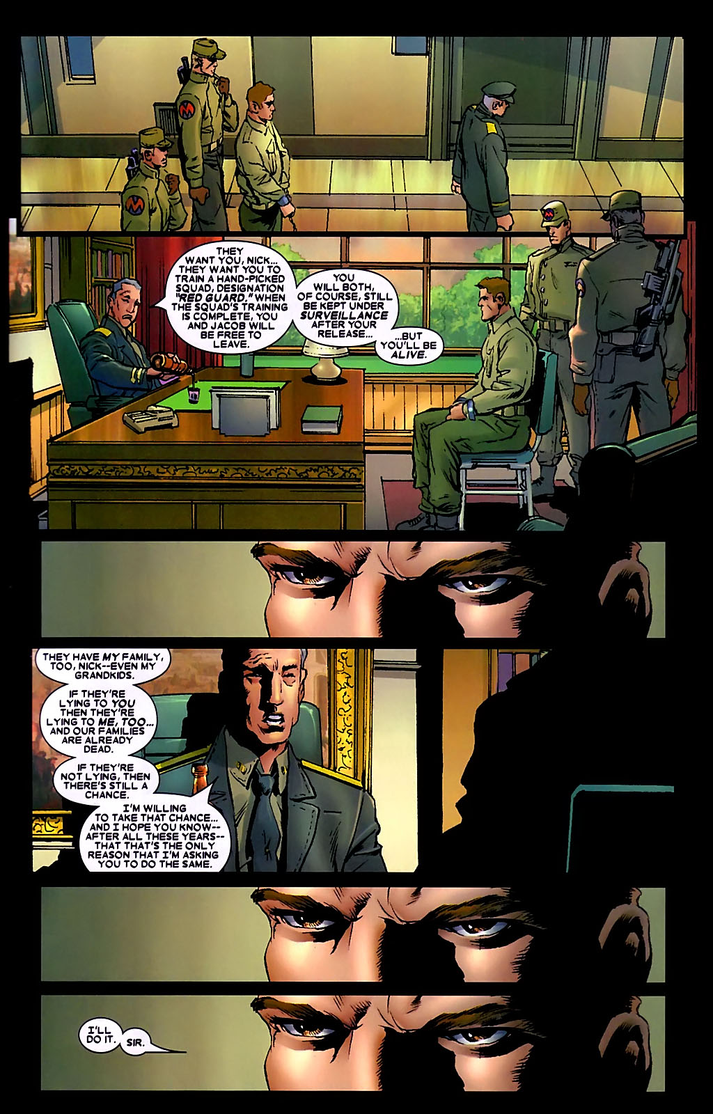 Read online Wolverine (2003) comic -  Issue #34 - 6