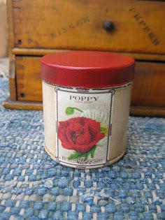 poppy seed tin