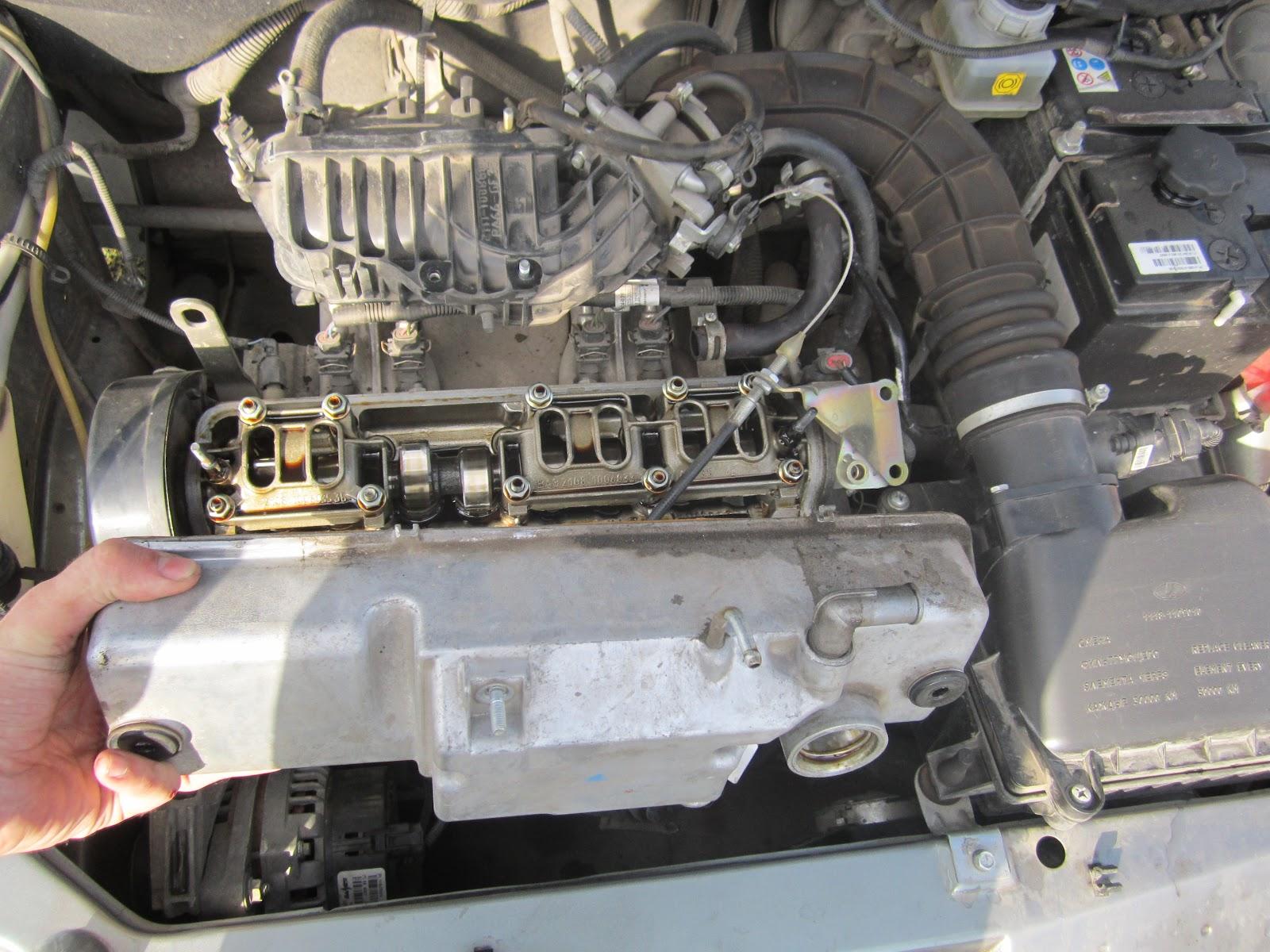Фото №6 - замена прокладки клапанной крышки ВАЗ 2110 8 кл