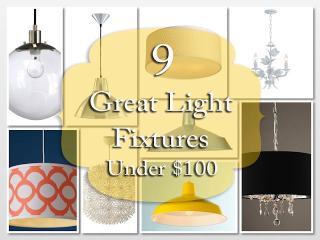 Light Fixtures under $100