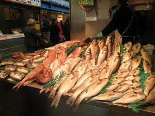 Pescado a Málaga mercado