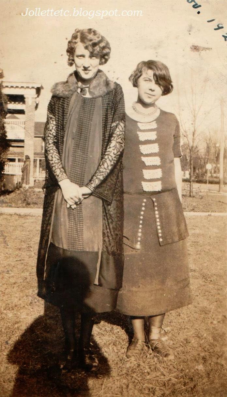 Courtney Garland and unknown Nov 1924 Harrisonburg, VA