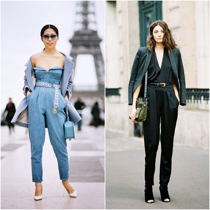 belt over jumpsuit