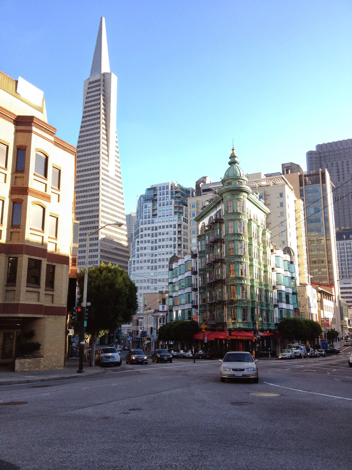 San Francisco & Lunch at Caffe DeLucchi
