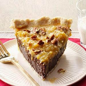 Gina's Italian Kitchen: Coconut-Pecan German Chocolate Pie